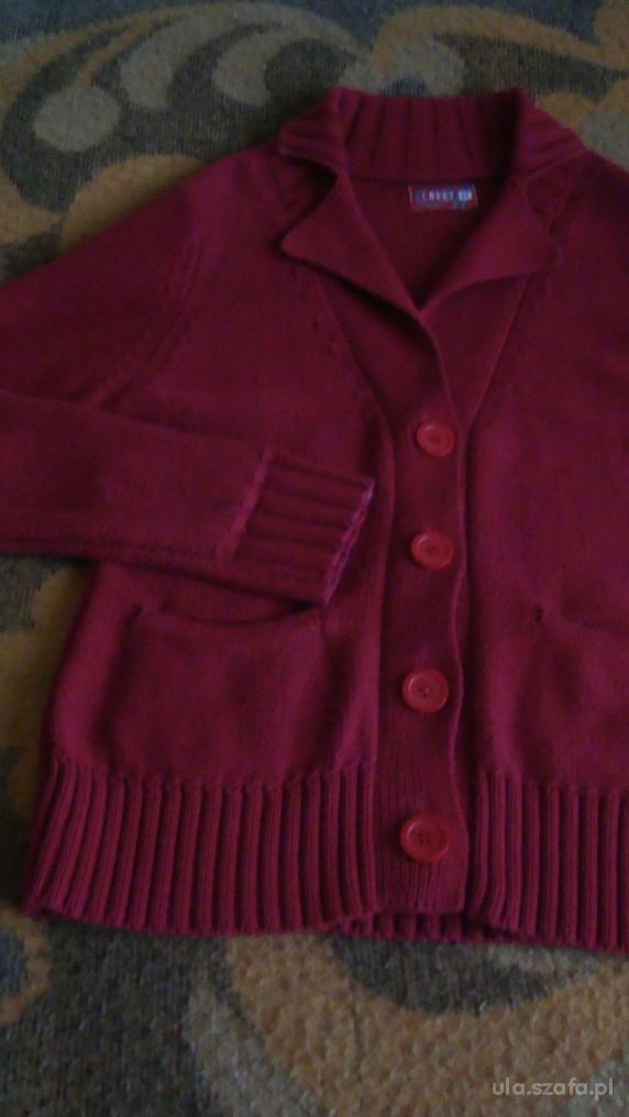 Swetry czerwony M CARRY