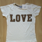 Komplet bluzka i spódnica panterka Love 158 164
