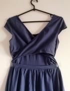 sukienka S M L XL reserved wycięcie na plecach cut out boho...