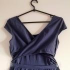 sukienka S M L XL reserved wycięcie na plecach cut out boho