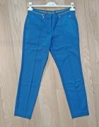 niebieskie spodnie w kant rozm 36...