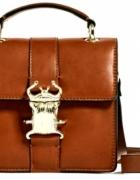 Torebka kuferek z chrabąszczem Zara