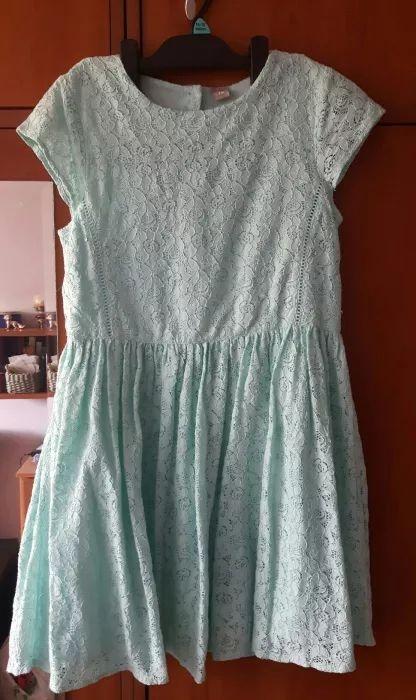 Sukienki i spódniczki Sukienka miętowa TU 152