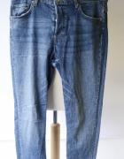 Spodnie Postrzępione H&M Skinny Ankle XS 34 Rurki Dzinsy...