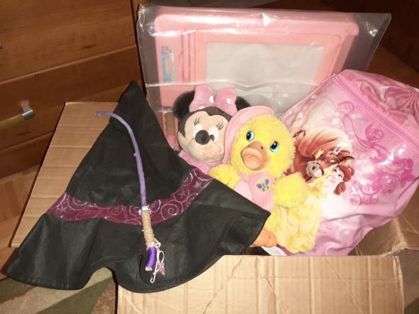 Zabawki dla dziewczynki...