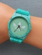 Sportowy zegarek Adidas zielony unisex prezent...