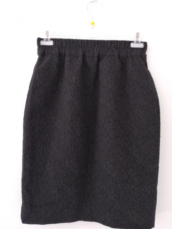 Spódnice Czarna ołówkowa spódnica