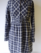 Sukienka Kratka Gant L 40 Kratkę Elegancka Koszulowa...