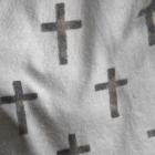 Unisono szary komin krzyże cross