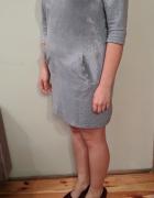 Sukienka MIDI z zamkiem rozmiar L...