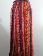 spódnica kopertowa pareo azteckie wzory ołówkowa...