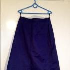 Granatowa spódnica od kompletu duże rozmiary XL L 40 42 używana