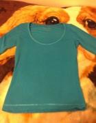 Bazowa zielona bluzka XS S M L One Love...