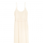 H&M Coachela długa sukienka boho ecru sznurowana na plecach 34 maxi