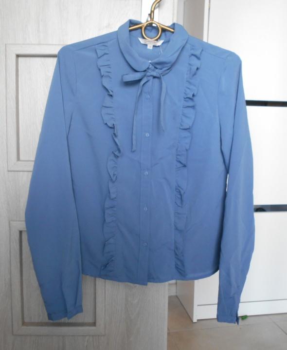 Koszule CA nowa koszula żabot kokardka kołnierzyk collar