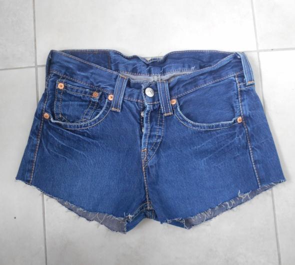 Levis jeansowe spodenki szorty jeans vintage...