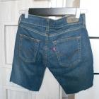 Levis szorty jeansowe spodenki jeans 557 vintage
