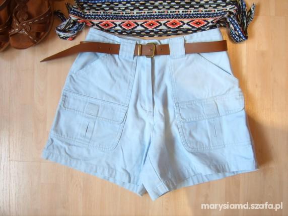 Spodenki Błękitne szorty Vero Moda 34