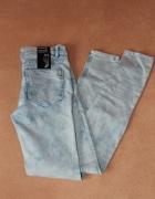 Nowe jeansy H&M marmurkowe rurki...