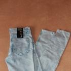 Nowe jeansy H&M marmurkowe rurki