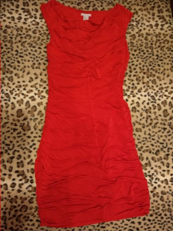 Sukienka drapowana tuba H&M 36 S...