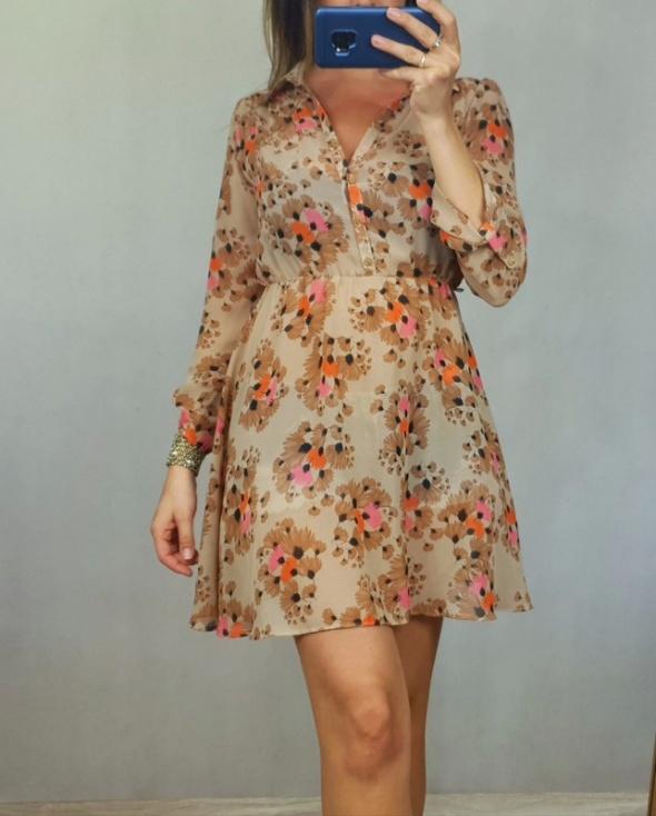 sukienka w kwiatki S...