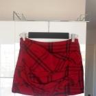 Zara nowa mini spódniczka w kratkę grunge kratka