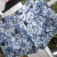 HM eleganckie szorty spodenki wzory kwiaty floral