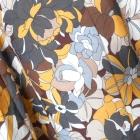 Grey Wolf nowa retro spódica midi wzory kwiaty