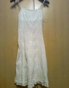 biała sukienka letnia...