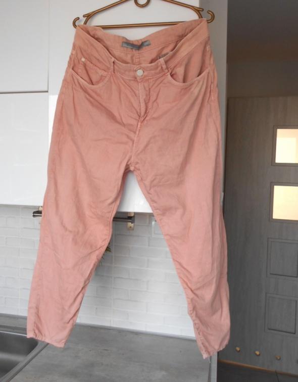 Zara Man nowe męskie jasne spodnie