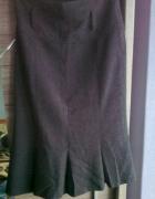 elegancka szara grubsza spódnica...