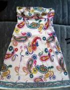 sukienka motyw ludowy etno boho wzory...