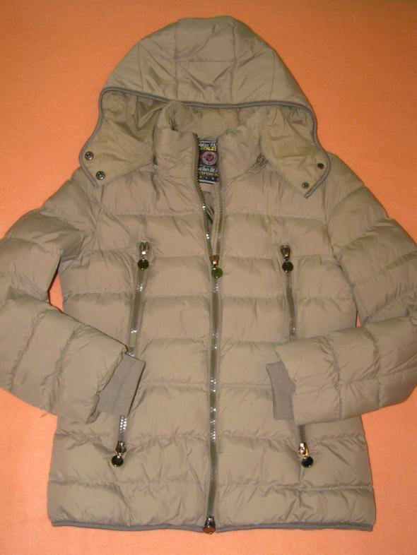 Ciepła zimowa pikowana kurtka HiKiss Fashion Athletics S M zip