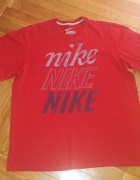 Czerwona koszulka Nike XL...