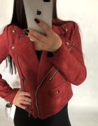 Ramoneska kurtka nowa S M czerwona...