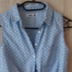 bluzka dżinsowa wiązana