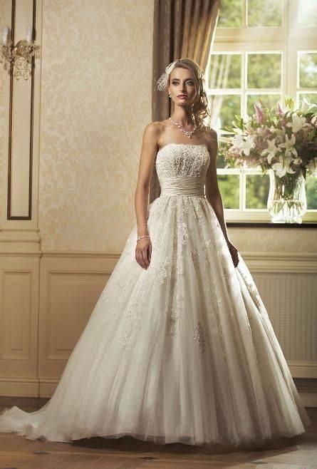 Suknia ślubna Annais Bridal Jesse biała