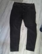 rurki jeansy z haftem...