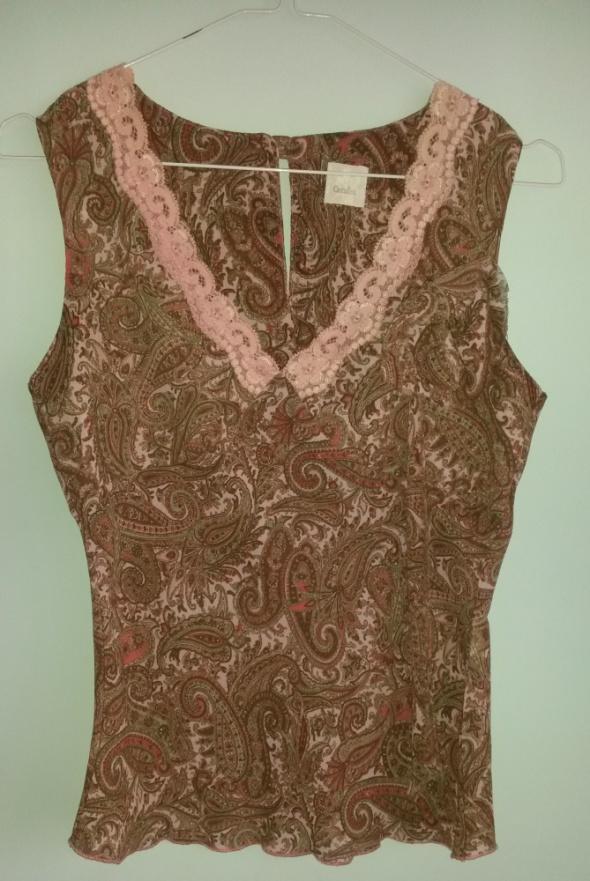 Bluzki Bluzka we wzory z kwiatem Camaieu 36 S