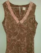 Bluzka we wzory z kwiatem Camaieu 36 S...