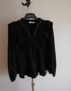 Nowa piękna koszula czarna z cekinami Reserved...