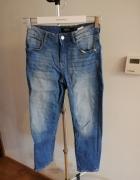 Spodnie jeans przed kostkę reserved...