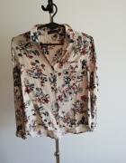 Beżowa koszula w kwiaty Reserved...