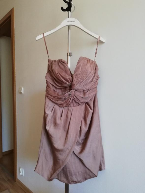 Beżowa sukienka Hm...