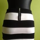 Spódniczka czarno biała H&M
