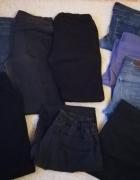 Spodnie jeansowe na przeróbki 9 szt...