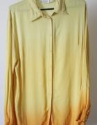 Asymetryczna koszula ombre...