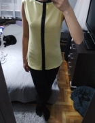 żółta elegancka