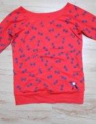 bluza w kokardki